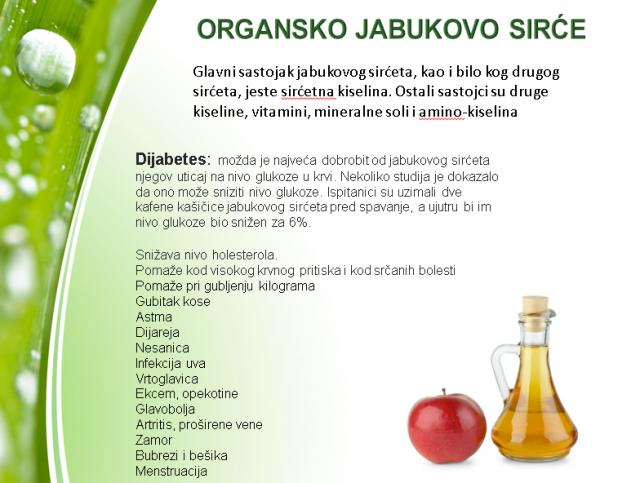 Organsko jabukovo sirće